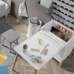 Τραπέζι με ρολό χαρτιού - παιχνιδόκουτο Ros Montessori