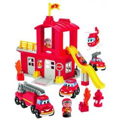 Σετ τουβλάκια Ecoiffier Abrick Πυροσβεστικός σταθμός