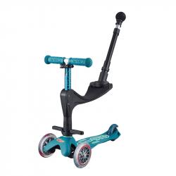 Τρίκυκλο πατίνι με αποσπώμενο κάθισμα Micro Mini 3in1 Deluxe Plus Ice Blue