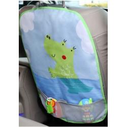 Kiokids® προστατευτικό κάλυμμα πλάτης καθίσματος αυτοκινήτου Κροκόδειλος