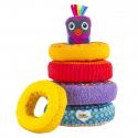 Μαλακοί στοιβαζόμενοι κρίκοι Lamaze® Rainbow Rings