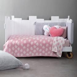 Κουβέρτα βαμβακερή NIMA Bebe Candy 110 x 140 cm