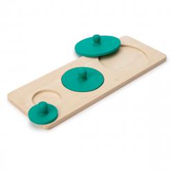 Ξύλινο παιχνίδι συσχέτισης με δίσκους Oxybul ATELIERS montessori
