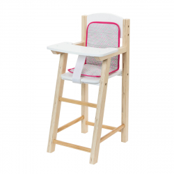 Ξύλινο κάθισμα φαγητού για κούκλα Oxybul iMAGibul