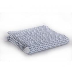 Κουβέρτα βαμβακερή Nef-Nef Homeware Sometime Blue 110 x 150 cm