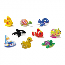 Φουσκωτά ζωάκια νερού INTEX Puff 'n' Play™, 4 σχέδια