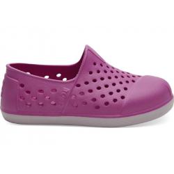 Παπούτσια παραλίας TOMS Tiny Romper Slip Ons Violet EVA