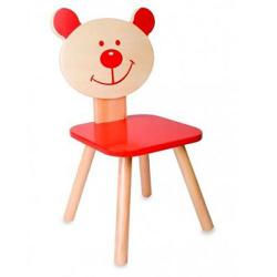 Ξύλινη καρέκλα Αρκουδάκι Classic world™ Red Bear