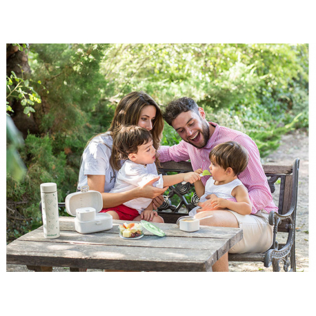 Miniland μεταφερόμενο σετ φαγητού Naturmeal On-The-Go