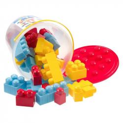 Κουβάς με 48 τουβλάκια LAZARID Super Bloks No 32