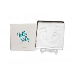 Τετράγωνο κουτί για αποτύπωμα μωρού Baby Art Magic Box Square Essentials