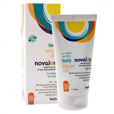 Novalou αντηλιακό γαλάκτωμα προσώπου και σώματος 150 ml