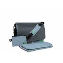 Τσάντα - αλλαξιέρα MOON™ Messenger Bag Ocean RF Edition Anthrazit