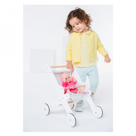 Ξύλινο καροτσάκι κούκλας Oxybul iMAGibul