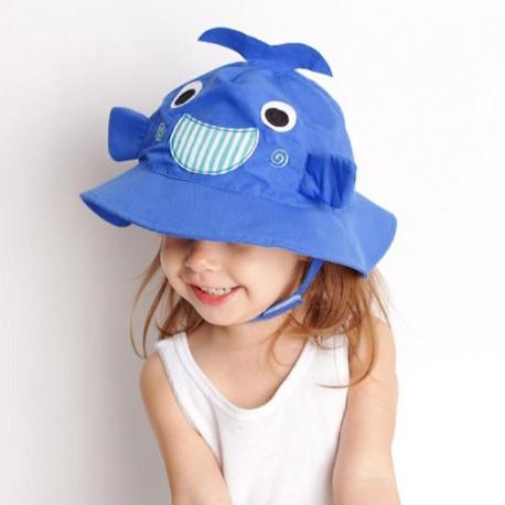Καπέλο με αντηλιακή προστασία ZOOCCHiNi™ Willy the Whale 6-12 μηνών