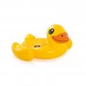 Φουσκωτή πάπια θαλάσσης INTEX Yellow Duck Ride On 3+ ετών