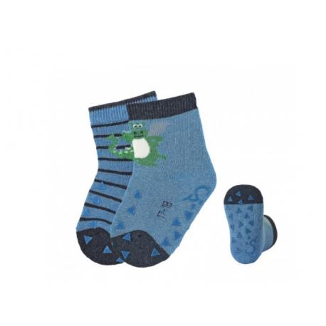 Αντιολισθητικές κάλτσες Sterntaler σετ των 2
