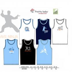 Φανελάκι Pretties® διάφορα σχέδια 1-10 ετών (1 τεμάχιο)
