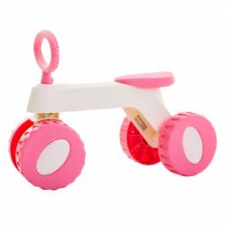 Περπατούρα ποδηλατάκι BabyToLove® Peter The Little Carrier Pink
