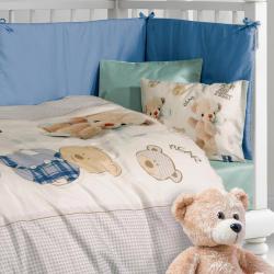Σετ παπλωματοθήκη GREENWICH POLO CLUB® Baby Essential 125 x 170 cm