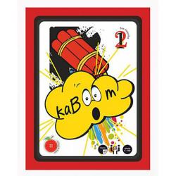 Επιτραπέζιο με κάρτες Odd Button By Oikopen Kaboom