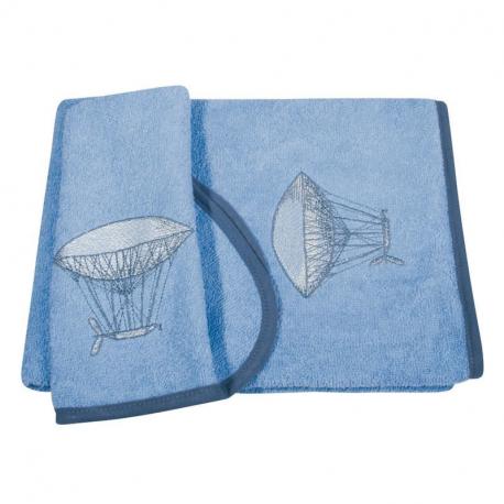 Πετσέτες με κέντημα GREENWICH POLO CLUB® Baby Essential σετ των 2