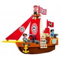 Σετ τουβλάκια Ecoiffier Abrick Πειρατικό καράβι
