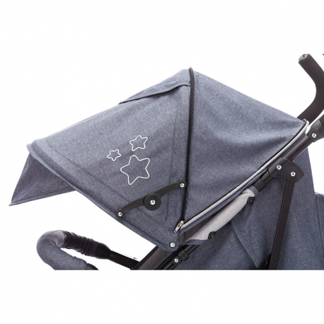 Καρότσι Fillikid Explorer Dark Grey - Light Grey Melange