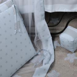 Χαλάκι DOWN TOWN BABY Star Grey - Ciel 120 x 160 cm