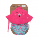 Σετ πάνα - μαγιό και καπέλο ZOOCCHiNi™ Franny the Flamingo 6-12 μηνών
