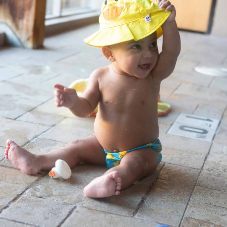 Σετ πάνα - μαγιό και καπέλο ZOOCCHiNi™ Pubbles the Duck 6-12 μηνών