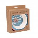 Sugarbooger® αντιολισθητικό μπολ μελαμίνης Baby Otter 340 gr