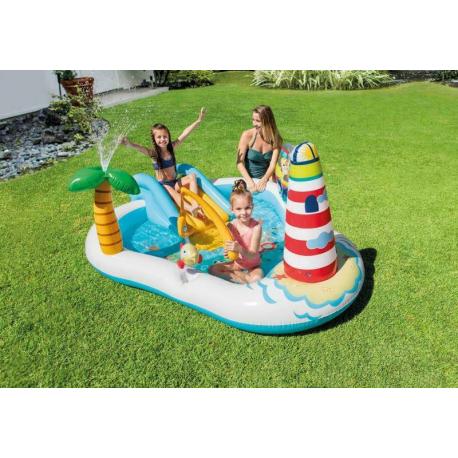 Φουσκωτό κέντρο δραστηριοτήτων με πισίνα INTEX Fishing Fun 2+ ετών