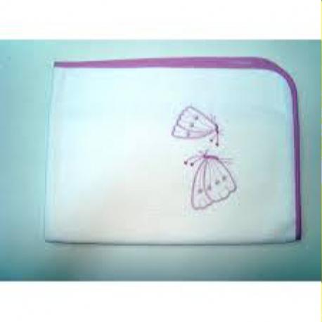 Σελτεδάκι Nona Bebe με κέντημα Πεταλούδες 60 x 80 cm
