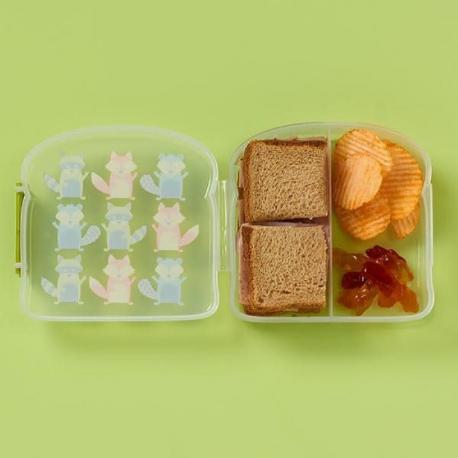 Sugarbooger® δοχείο για σνακ Good Lunch® What Did the Fox Eat?® με διαχωριστικό