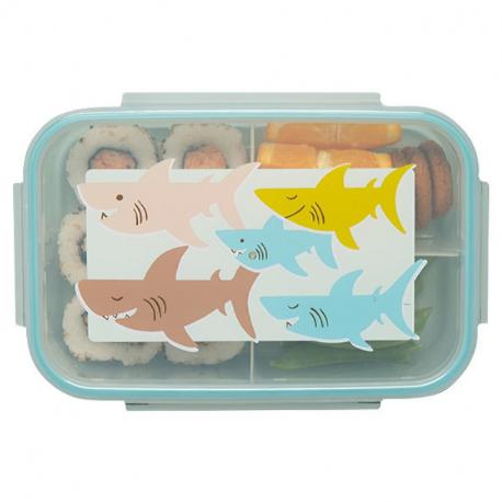 Sugarbooger® δοχείο αποθήκευσης και μεταφοράς φαγητού Good Lunch® Smiley Shark™