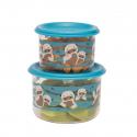 Sugarbooger® σετ 2 μικρά δοχεία αποθήκευσης φαγητου Good Lunch® Baby Otter