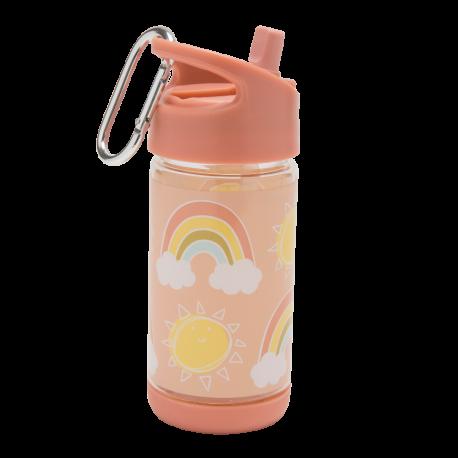 Sugarbooger® παγούρι Flip & Sip® 350 ml Rainbows & Sunshine