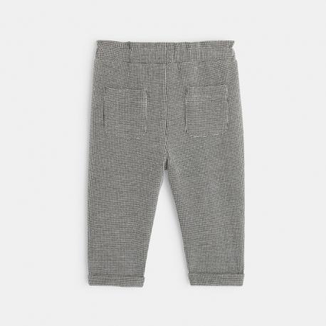 Okaidi Pantalon maille pied-de-puce