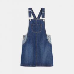 Okaidi Robe-salopette en jean