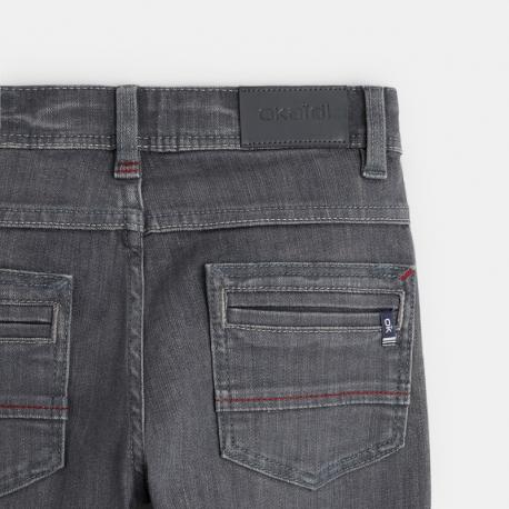 Okaidi Jean gris skinny ultra-resistant