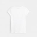 Okaidi T-shirt sequins magiques palmiers
