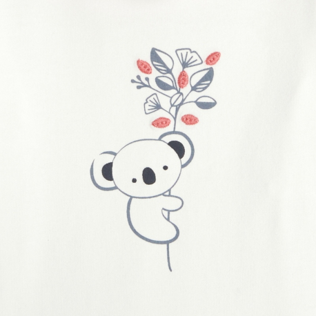 Okaidi Body stretch panda a col