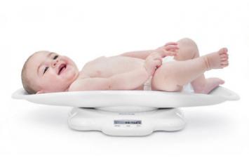 ζυγαριές μωρού