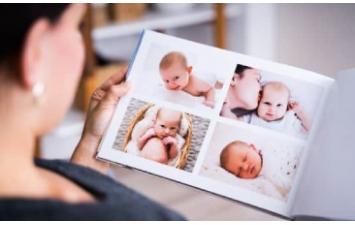 ημερολόγιο μωρού - άλμπουμ